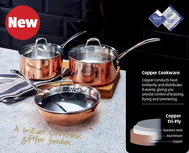 Tri Ply Copper Pans Aldi Ireland Specials Archive
