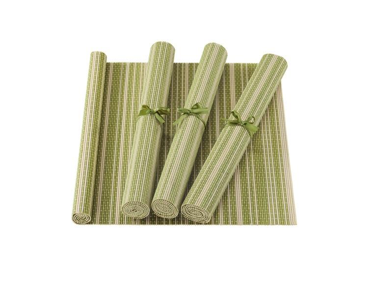 Bambus Untersetzer Oder Tischlaufer Lidl Luxemburg Archiv